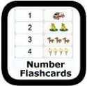 number flashcards 00