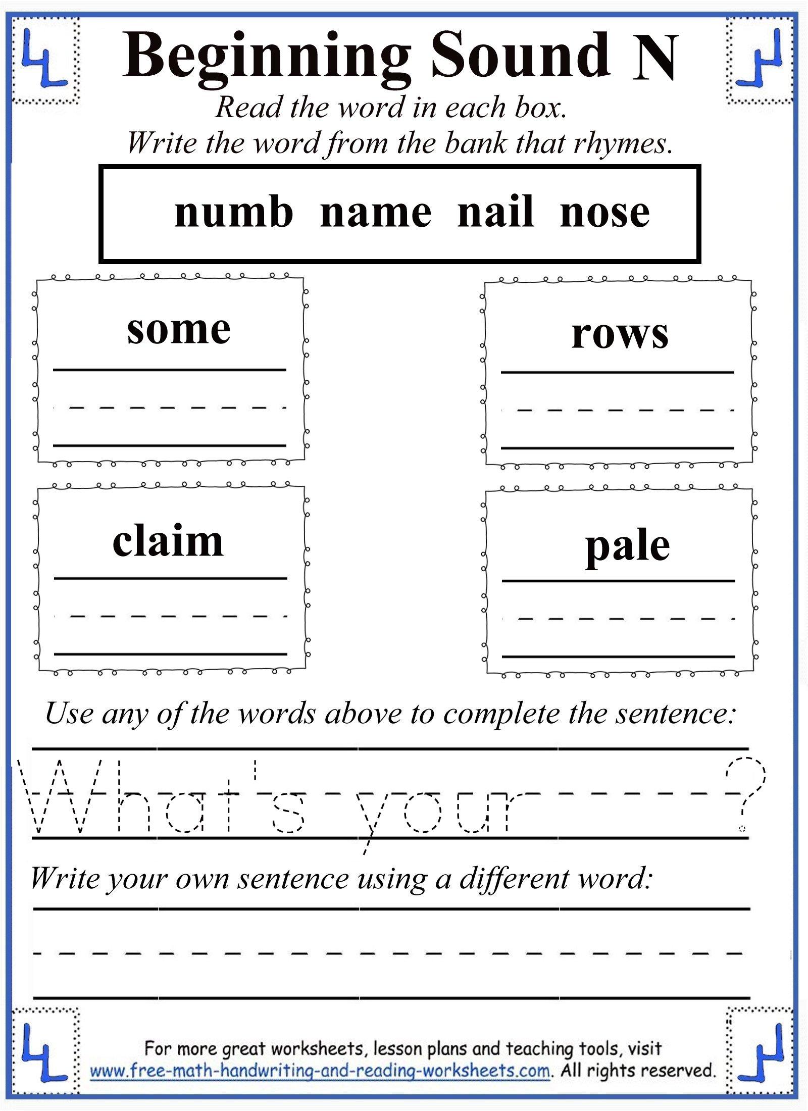 printable letter n 4