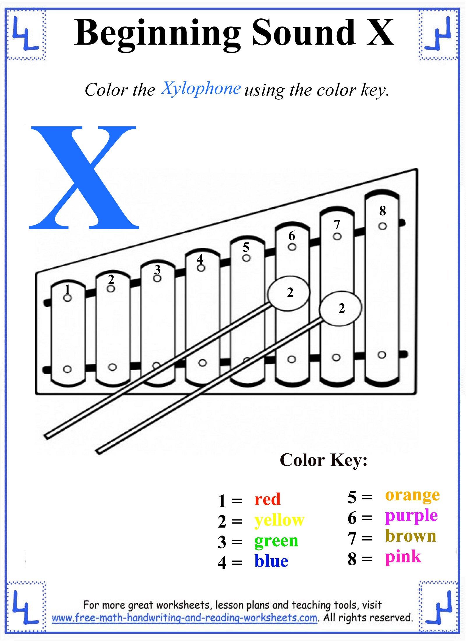 x letter 1