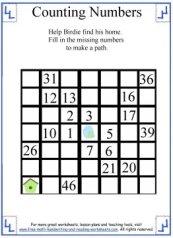 missing numbers 3