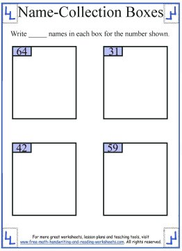 name collection box worksheet 8