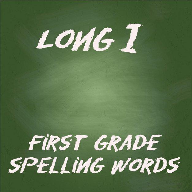 1st grade spelling words pdf