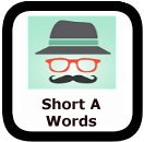 1st grade spelling words short a