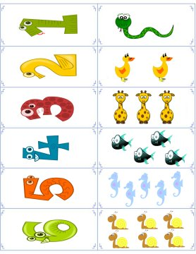 number flashcards 3