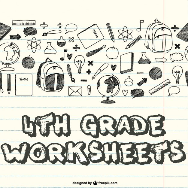 4th Grade Worksheets - Math - Reading - Writing - Science
