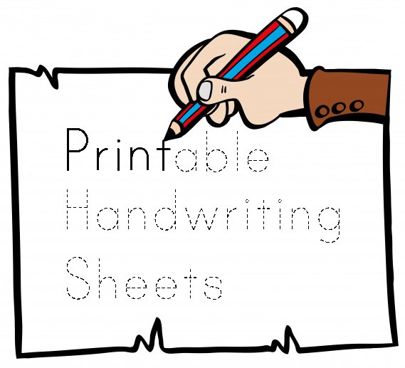 printable handwriting sheets 0
