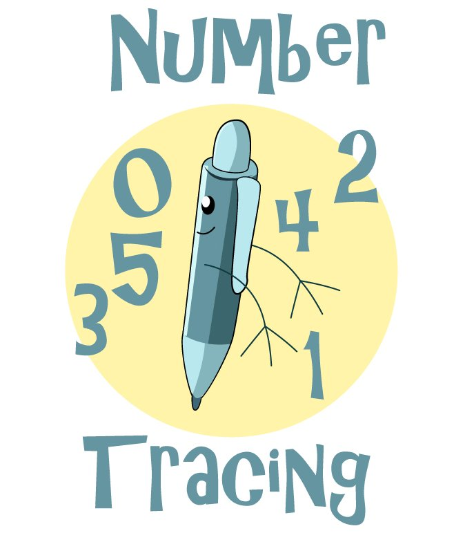 number tracing 7