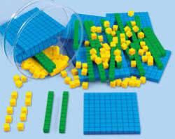 foam place value blocks