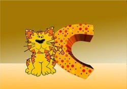 printable letter c