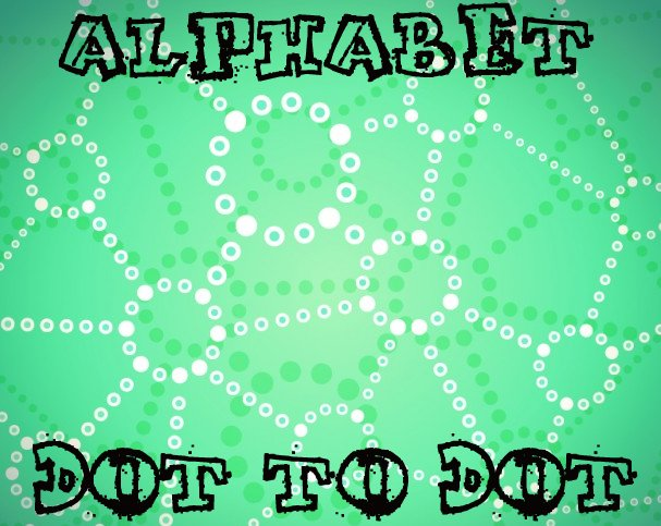 Alphabet Dot To Dot Puzzles