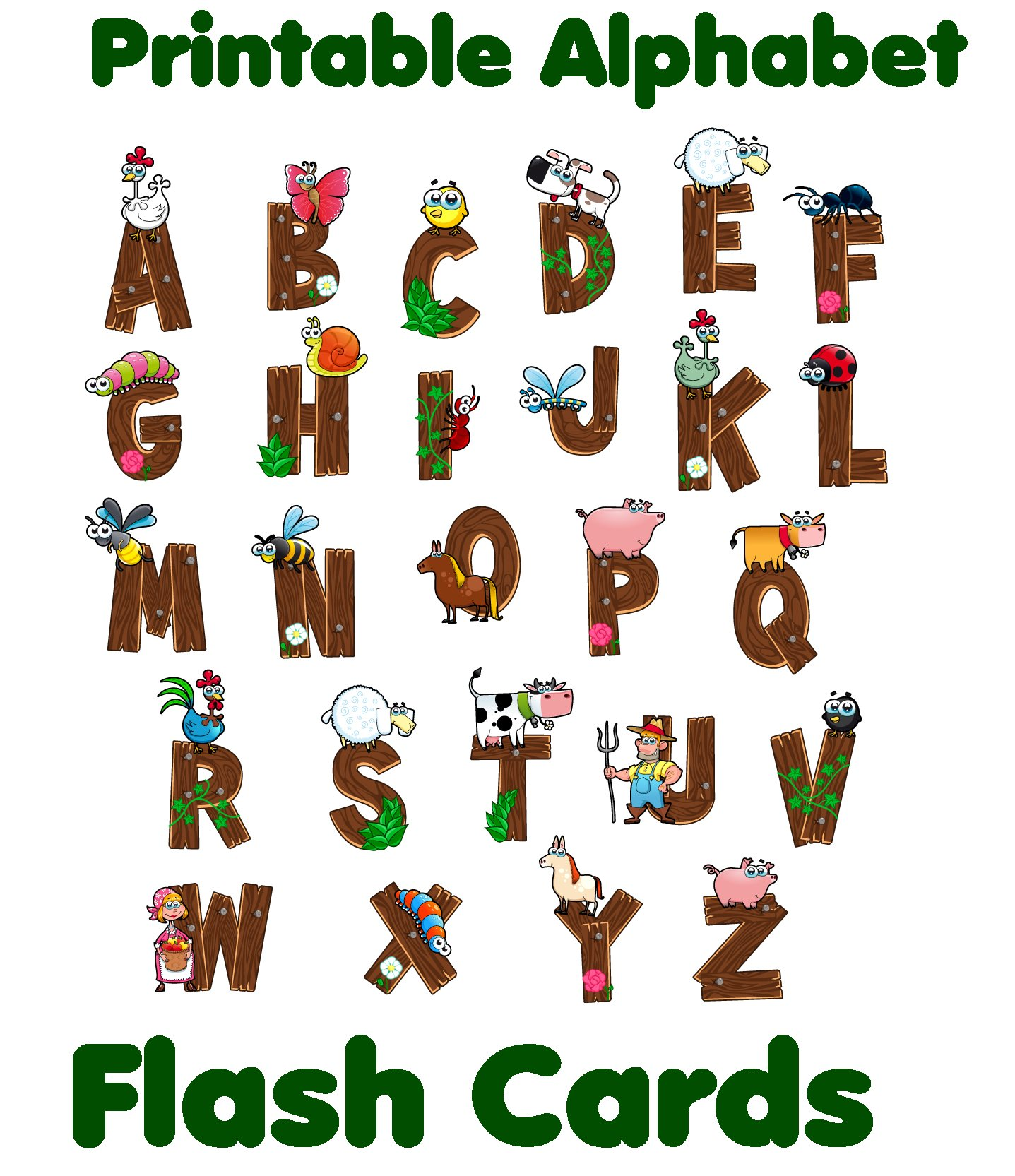 photo regarding Printable Abc Flash Cards identified as Alphabet Flash Playing cards - Printable Do-it-yourself