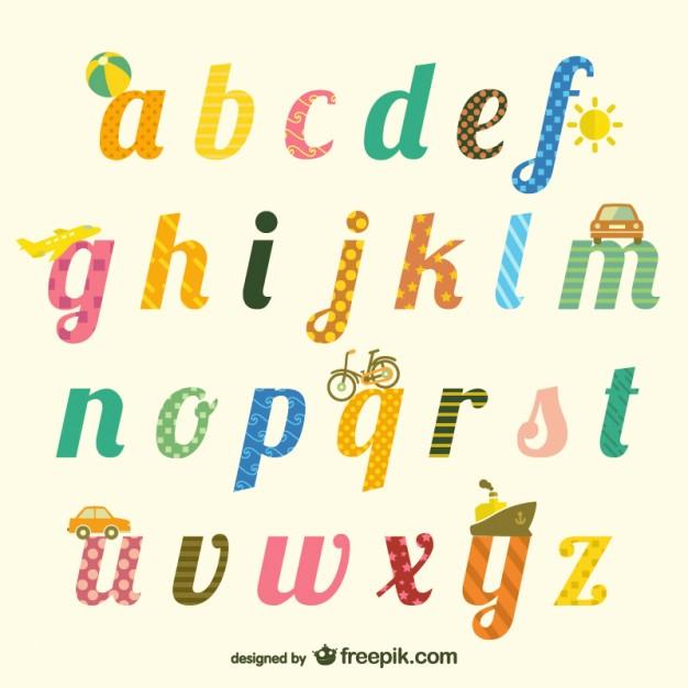 alphabet scrapbook