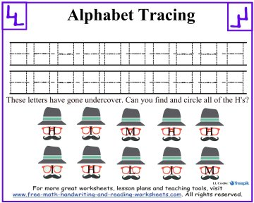 alphabet tracing 2