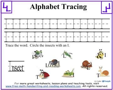 alphabet tracing 3