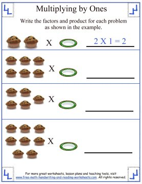 Basic Multiplication Worksheet - Facts and Rules
