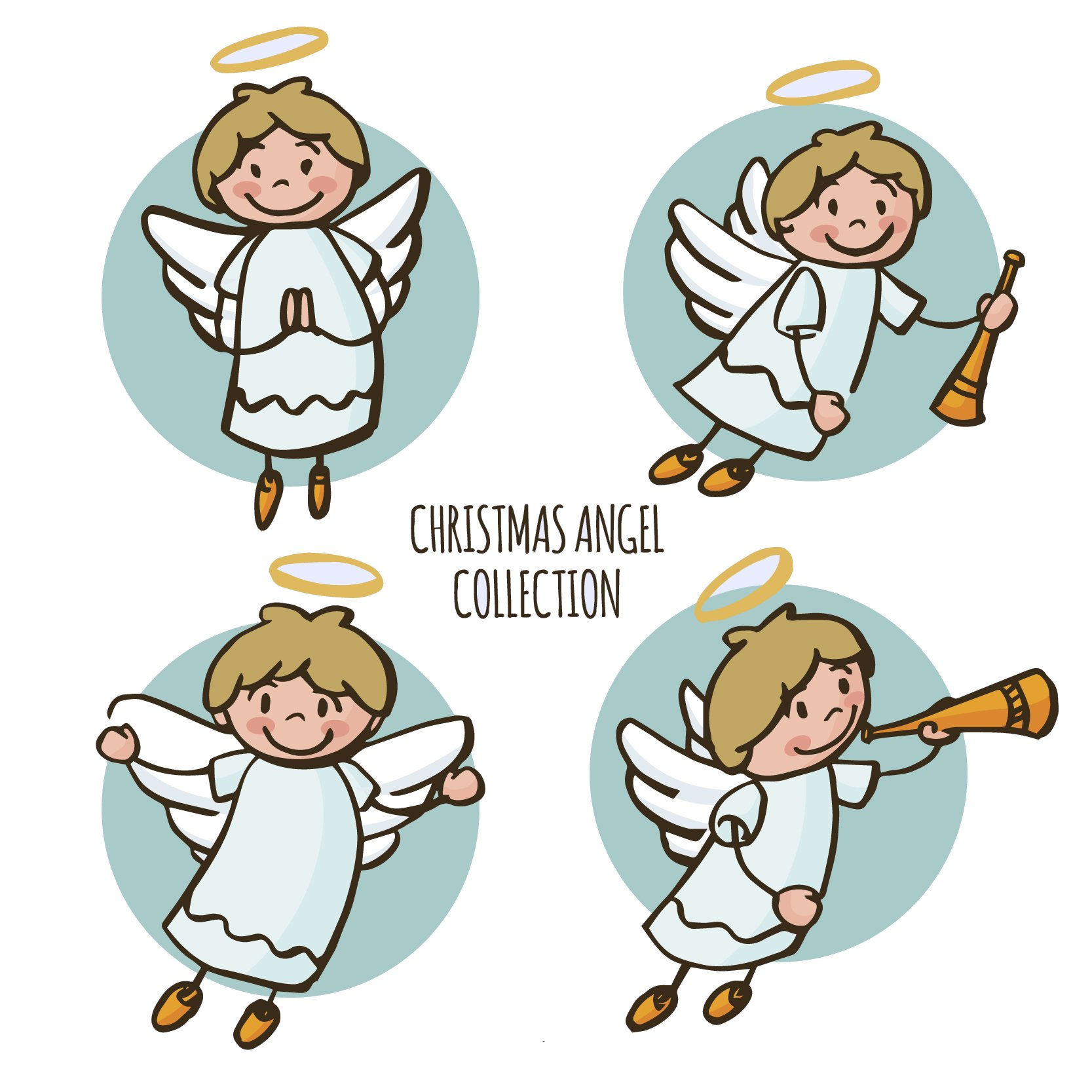 Printable Angel Coloring Pages | ColoringMe.com | 1667x1667