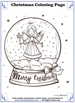 christmas angel coloring pages 21