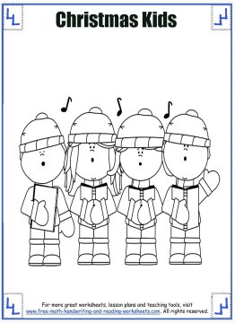christmas coloring page 4
