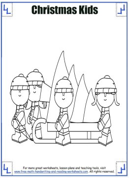 christmas coloring page 5