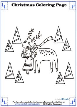 christmas coloring page 8