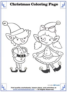 christmas coloring sheets 10