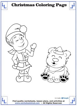 christmas coloring sheets 11