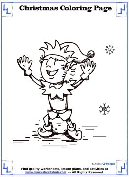 christmas coloring sheets 12