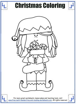 christmas coloring sheets 2