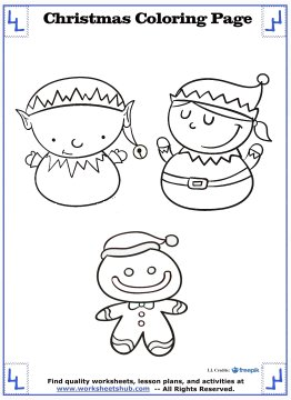 christmas coloring sheets 8