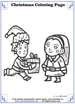 christmas coloring sheets 9