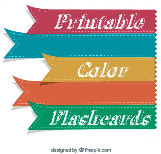 photo relating to Printable Color Flashcards for Toddlers titled Printable Shade Flashcards