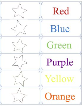 color flashcards 5