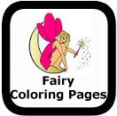 fairy coloring pages to print