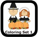 thanksgiving coloring pages set 1