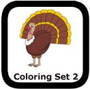 thanksgiving coloring pages set 2