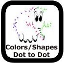 connect the dots with shapes and colors