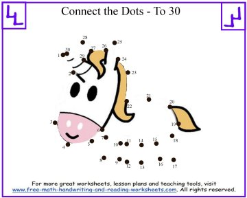 connect the dots printable 1