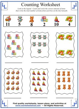 counting activity 6