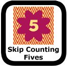 skip counting by fives