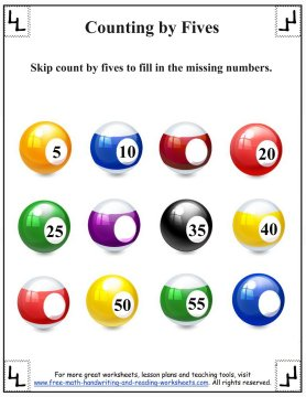 counting by fives 2