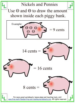 kids money counting worksheet 4