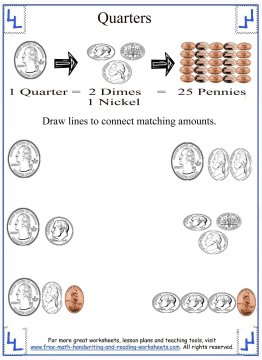 counting money worksheets 3