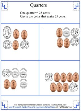 counting money worksheets 5