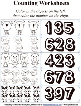 counting numbers 6