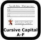 cursive writing worksheets 00