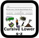 cursive practice 00
