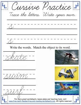 cursive practice 1