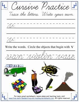 cursive practice 4