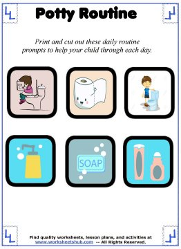 daily routine for kids 3