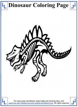 dinosaur coloring pages 9